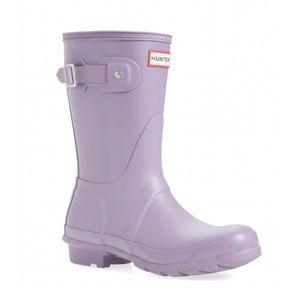 NEW Hunter original short lavender rain boots!